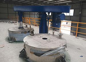 悬挂式高速分散机应用案例