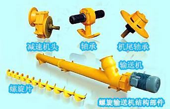 螺旋输送机结构部件