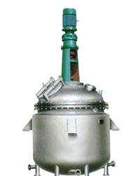 蒸汽加热反应釜结构图